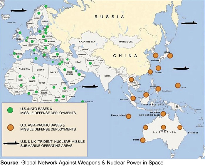 US Foreign Military Bases Arent Defense The William Lloyd - Map Of All Us Military Bases In The World